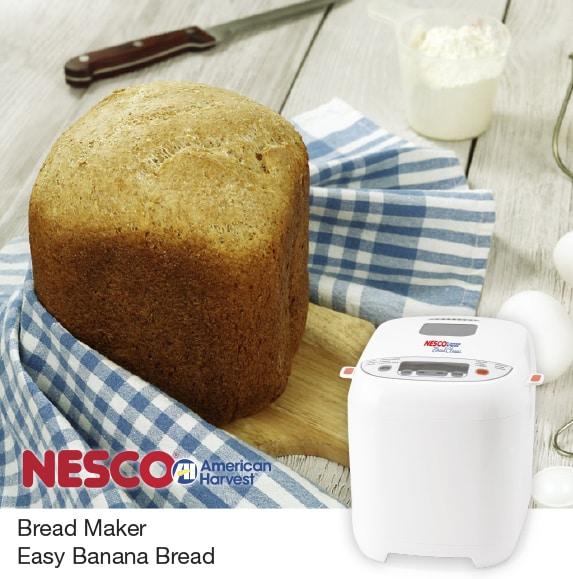 Bread Maker Easy Banana Bread