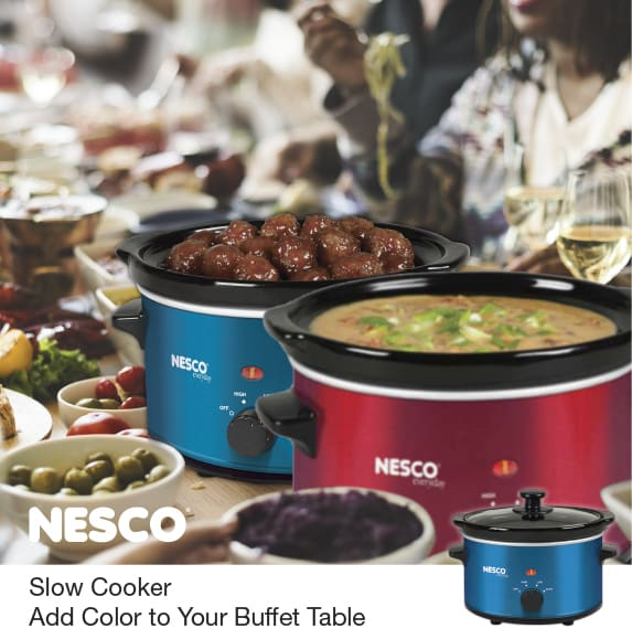 Slow Cooker Add Color To Your Buffet Table
