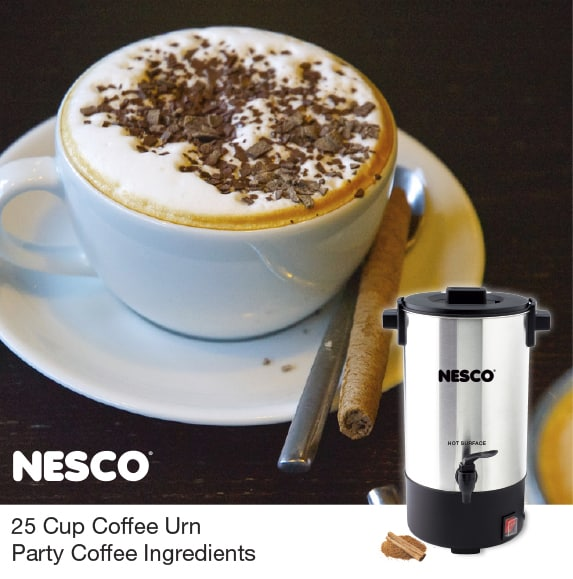 25 Cup Coffee Urn Party Coffee Ingredients