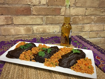 Chicken Mole And Mexican Rice
