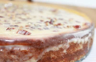 Cheesecake close-up