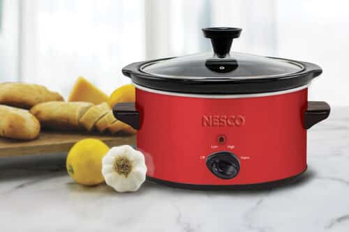 1.5 Quart Red Slow Cooker Lifestyle
