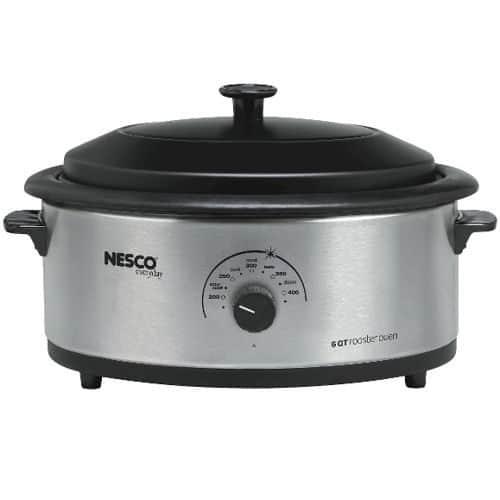 6 Qt. S/Steel Roaster, Nescote® Non-Stick Cookwell