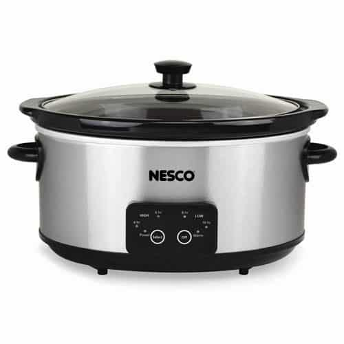 4 Qt. Digital Stainless Steel Slow Cooker
