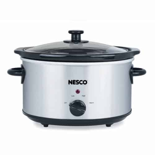 4 Qt Analog Stainless Steel Slow Cooker
