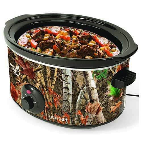 8 Qt. Camouflage Slow Cooker