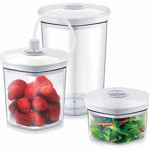Vacuum Canisters (Set Of 3)