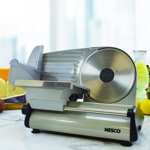 "FS-200 180 Watt Food Slicer With 7.5"" Blade Lifestyle"