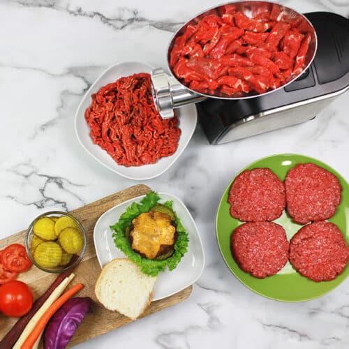 FG-180 500 Watt Stainless Steel Food Grinder Lifestyle