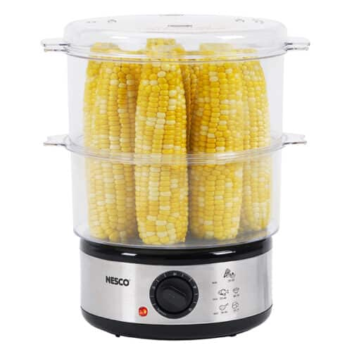 ST-25F 5 Qt. Food Steamer With Corn On The Cob