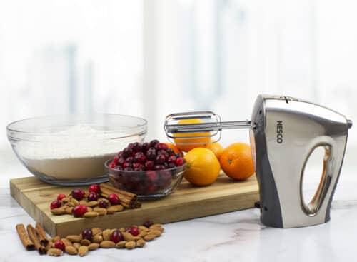 HM-350 16-Speed Hand Mixer Lifestyle