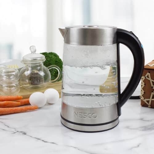 GWK-02 Glass 1.7 L Water Kettle Lifestyle