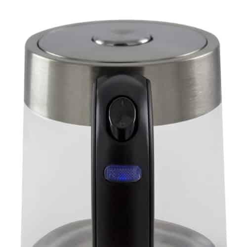 GWK-02 Glass 1.7 L Water Kettle Power Switch