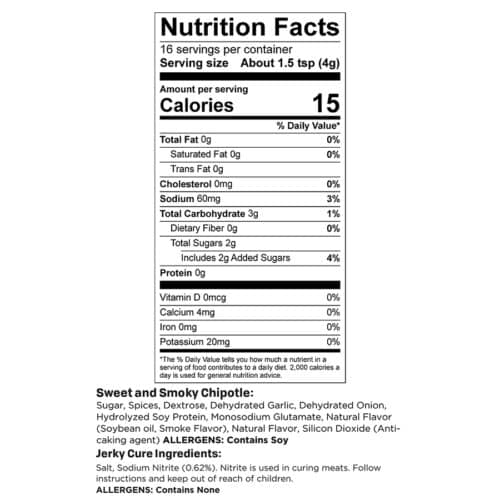Sweet Chipotle Trial Nutr Facts_3