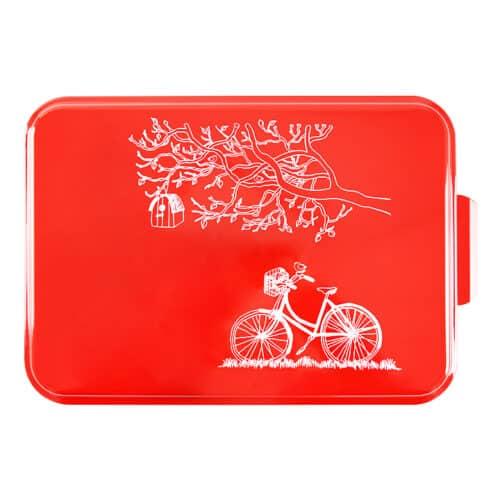 NCP-B-8 Red Bicycle Cake Pan Main