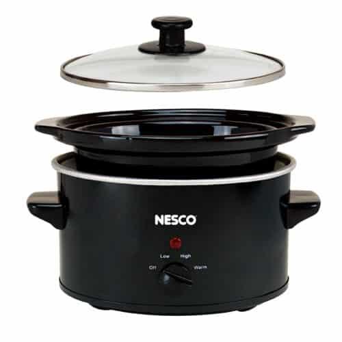 SC-150-13 1.5 Qt Black Slow Cooker Expanded View