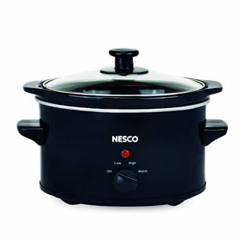 1.5 Qt Black Slow Cooker