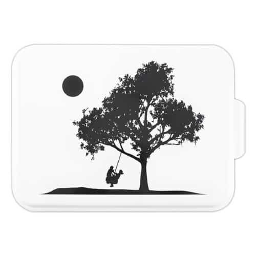 NCP-A-8 Boy and Girl on Swing 9x13 Cake Pan Main