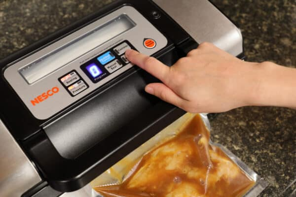 Make harvest season easy with NESCO Vacuum Food Sealer