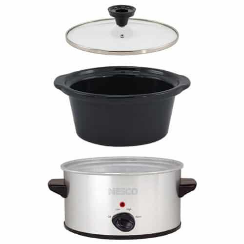 1.5 Qt Stainless Steel Slow Cooker
