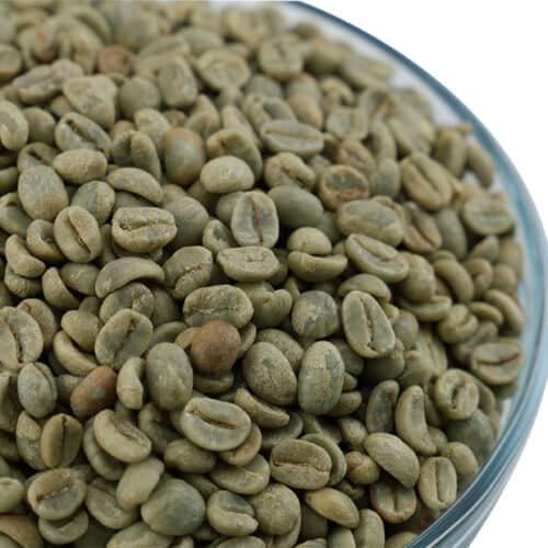 Ecuadorian Raw, Green Coffee Beans