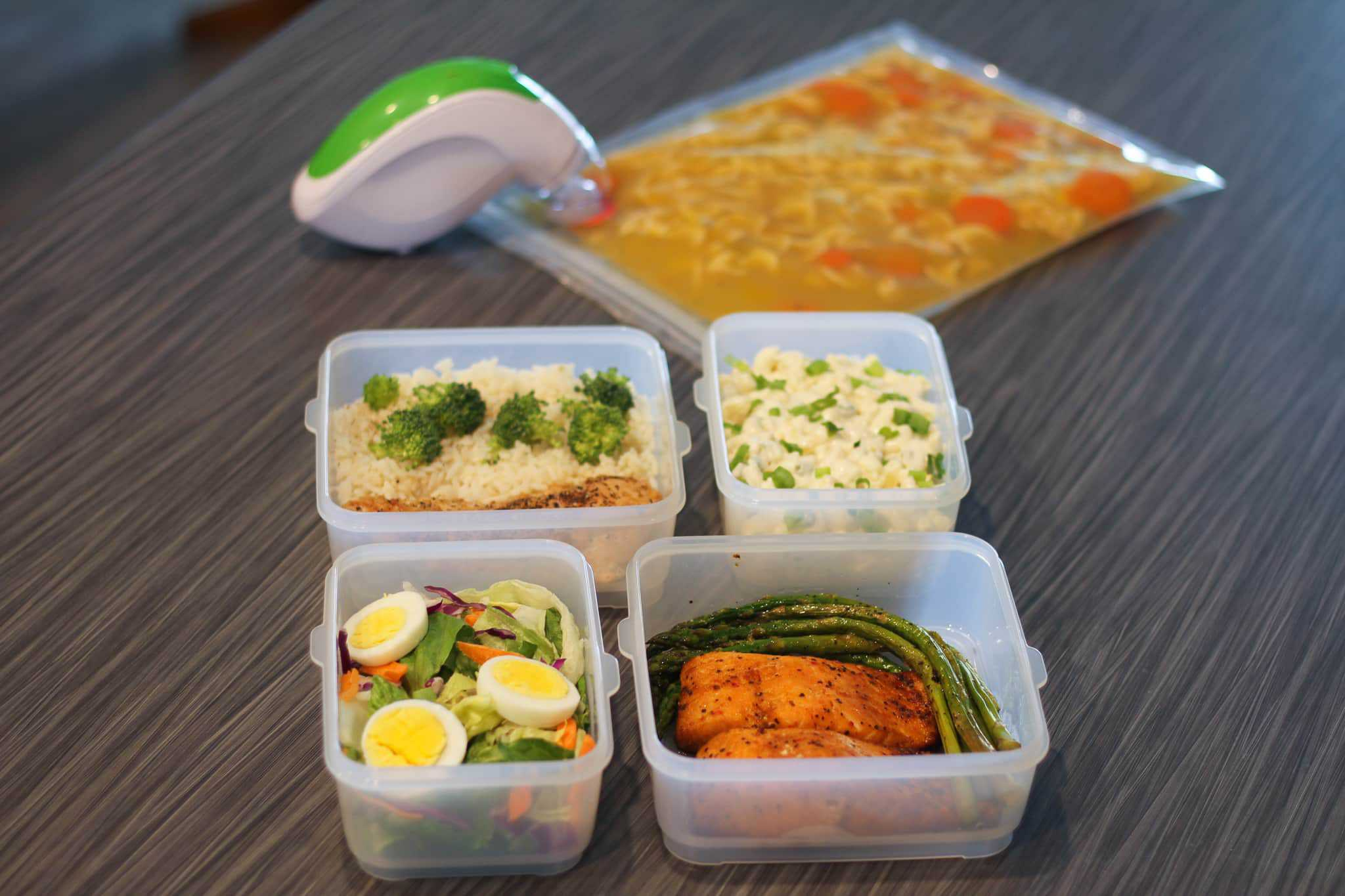 Enjoy more of your summer with easy meal prep