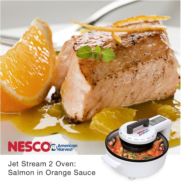 Read more about the article Salmon In Orange Sauce