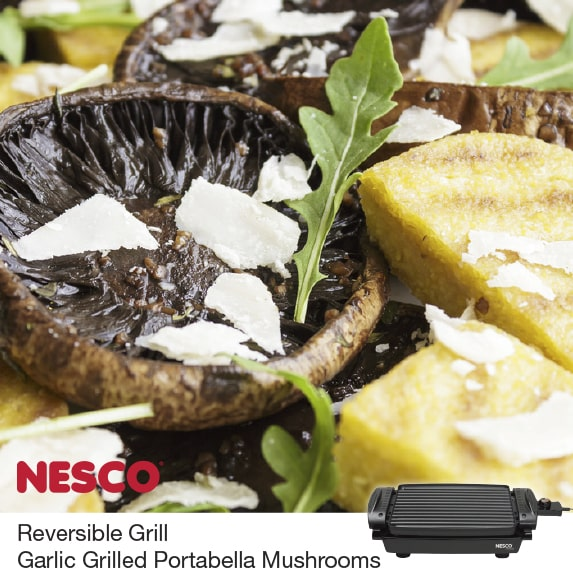 Read more about the article Garlic Herb And Portabella Mushrooms