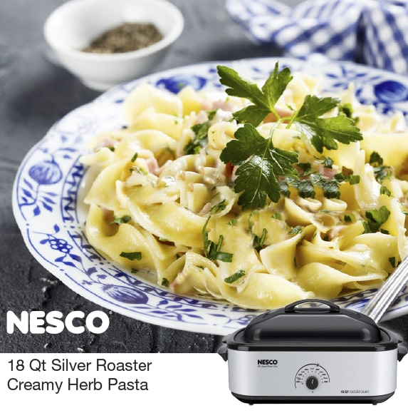 Read more about the article Creamy Herb Pasta