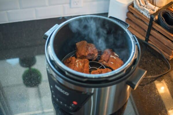 Ribs In NESCO Pressure Cooker