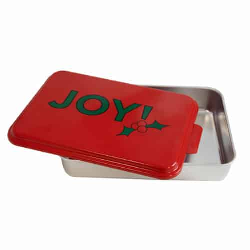 NCP-AF-2 Joy and Natural Aluminum Cake Pan 2 Pack Open View