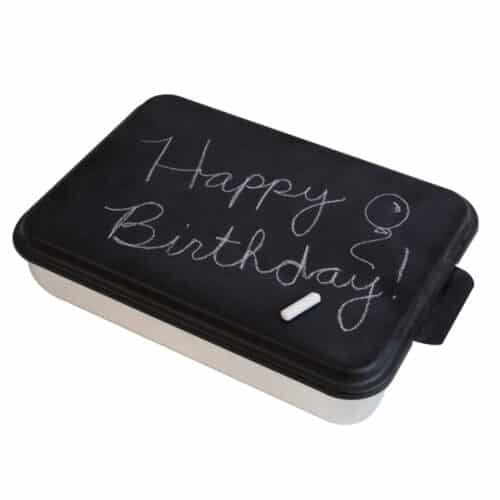 Chalkboard Cake Pan Main Happy Birthday