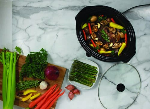 SC-8-25 Stainless Steel Slow Cooker Lifestyle