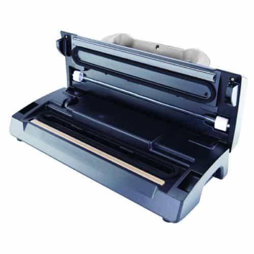 VS-09 Deluxe Vacuum Sealer Open From Side