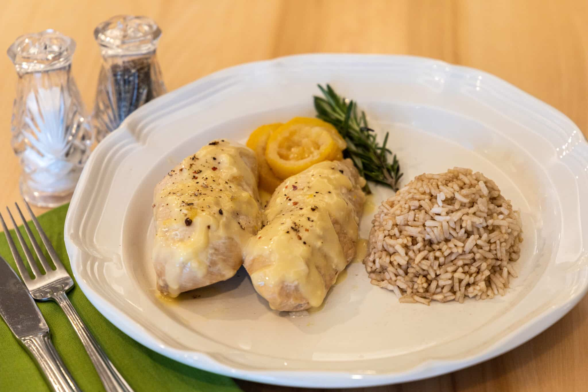 Read more about the article Lemon Rosemary Chicken